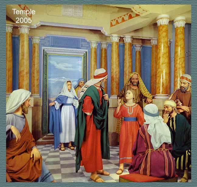 Les tableaux de la vie de st joseph scenes depicting the life of